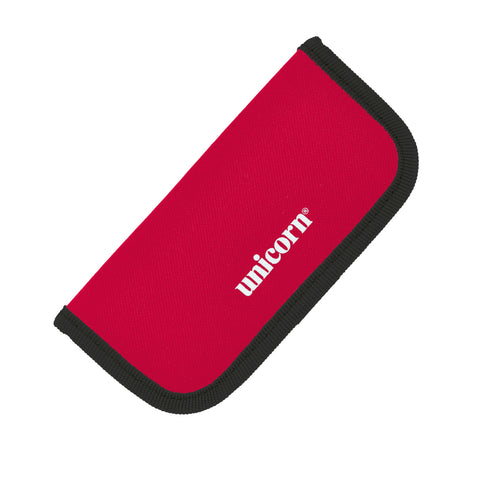 Unicorn Midi Velcro Darts Wallet - Red w/ Black Interior