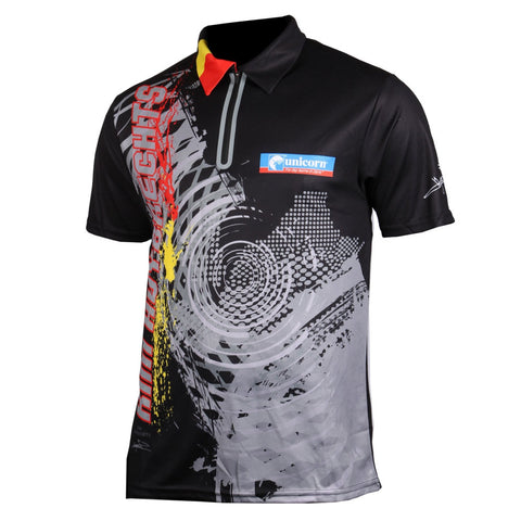 Unicorn Kim Huybrechts Official 2019 Darts Shirt