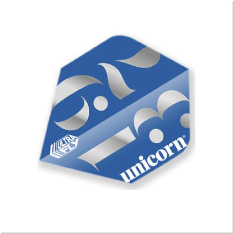 Unicorn - Unicorn Ultrafly.100 Origins Blue Darts Flights - Mad On Darts -  Flights