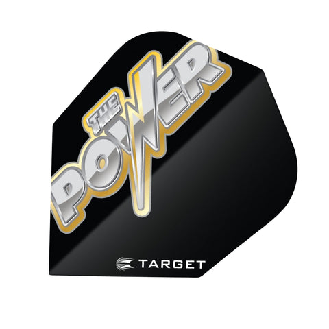 Target - Target Pro.100 The Power Dart Flights Yellow - Mad On Darts -  Flights