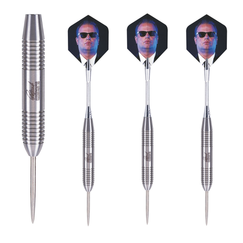 Unicorn - Unicorn Raymond van Barneveld Bullet Steel Tip Darts - Mad On Darts -  Darts Sets