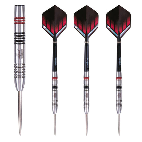 Unicorn - Unicorn Raymond van Barneveld Silverstar Steel Tip Darts - Mad On Darts -  Darts Sets