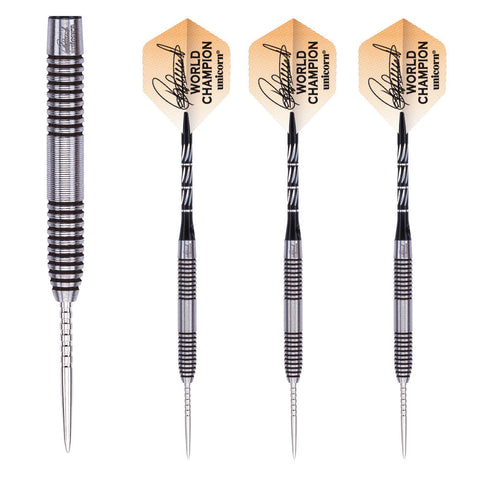 Unicorn - Unicorn Raymond Van Barneveld World Champion 90% Steel Tip Darts - Mad On Darts -  Darts Sets