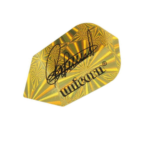 Unicorn - Unicorn Authentic .75 RVB Signature Gold Dart Flights - Mad On Darts -  Flights