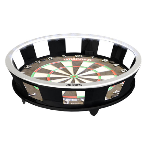 Unicorn - Unicorn Solar Flare Integrated Illuminated Pro Surround - Mad On Darts -  Dartboards & Oche Accessories