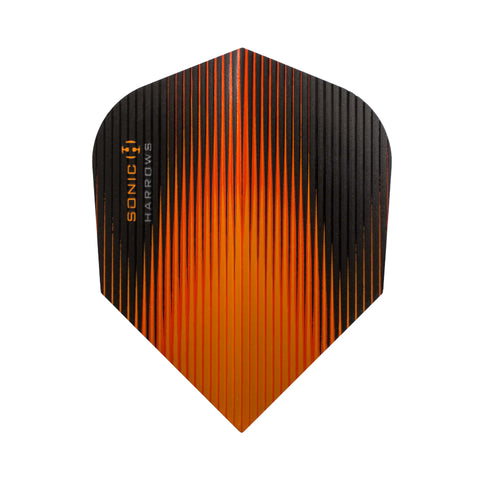 Harrows - Harrows Sonic 6502 Orange Darts Flights - Mad On Darts -  Flights