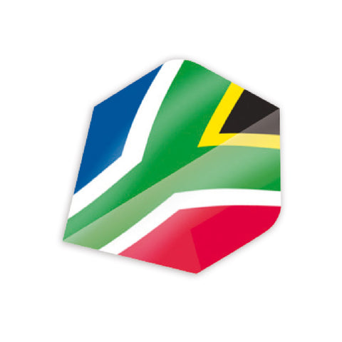 Unicorn - Unicorn Maestro .100 South African Flag Dart Flights - Mad On Darts -  Flights