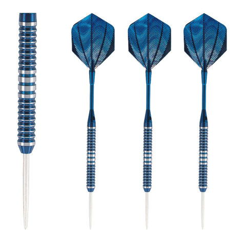Unicorn - Unicorn Sparks Tungsten Steel Tip Darts Blue - Mad On Darts -  Darts Sets