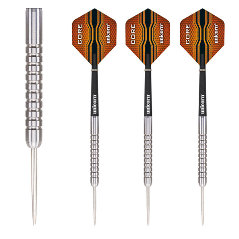 Unicorn - Unicorn Core XL Striker Steel Tip Darts - 21g - Mad On Darts -  Darts Sets