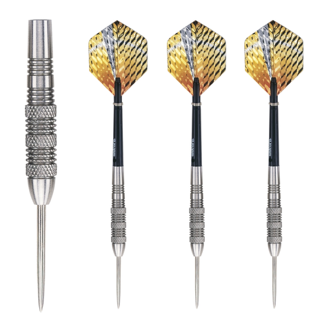 Unicorn - Unicorn Striker 27g Knurled Steel Tip Darts - Mad On Darts -  Darts Sets