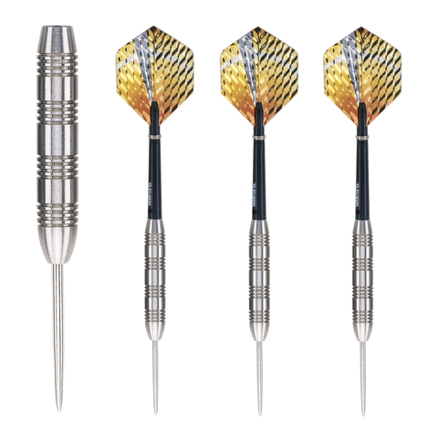 Unicorn - Unicorn Striker 28g Steel Tip Darts - Mad On Darts -  Darts Sets