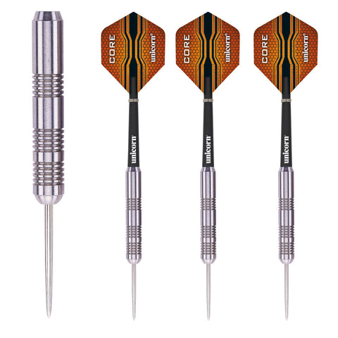 Unicorn - Unicorn Core XL Striker 32g Steel Tip Darts - Mad On Darts -  Darts Sets