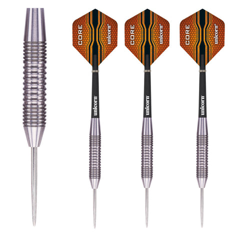 Unicorn - Unicorn Core XL Striker 34g Steel Tip Darts - Mad On Darts -  Darts Sets