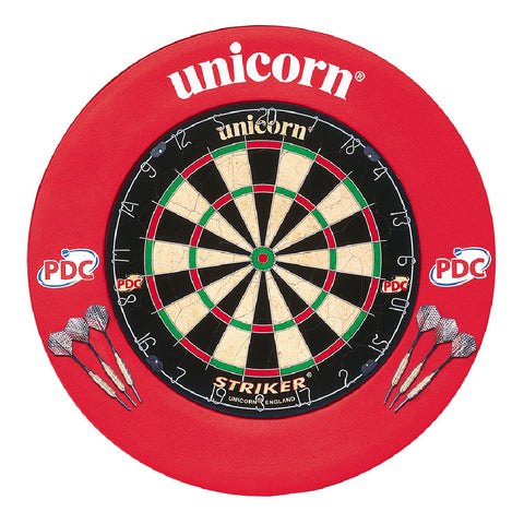 Unicorn - Unicorn Striker Board & Surround Home Darts Centre - Mad On Darts -  Dartboards & Oche Accessories