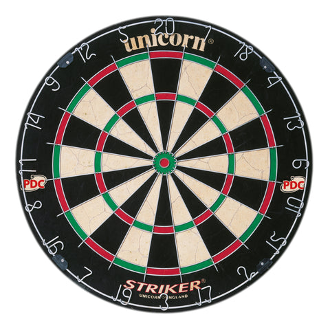 Unicorn - Unicorn Striker Dartboard - Mad On Darts -  Dartboards & Oche Accessories