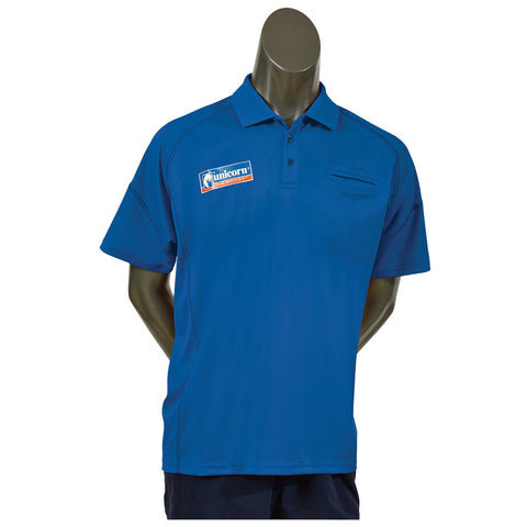 Unicorn - Unicorn Team Darts Shirt Royal Blue - Mad On Darts -  Dart Shirts