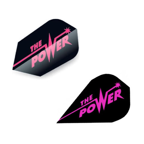 Unicorn - Unicorn Authentic .100 The Power Dart Flights Black/Pink - Mad On Darts -  Flights