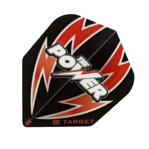 Target - Target The Power Bolt Dart Flights Black Red - Mad On Darts -  Flights