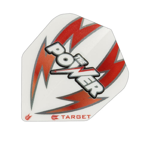 Target - Target The Power Bolt Dart Flights White Red - Mad On Darts -  Flights