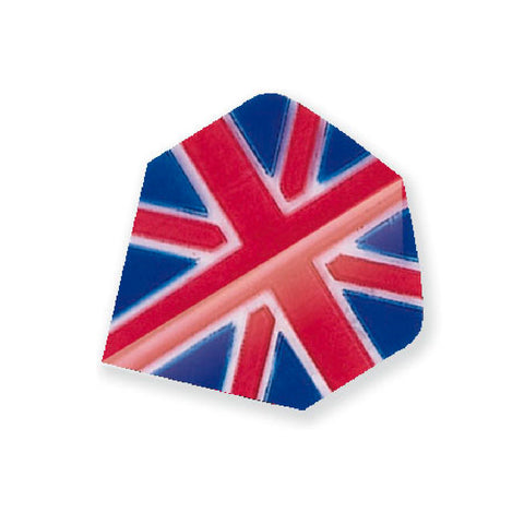 Unicorn - Unicorn Maestro .100 Union Jack Dart Flights - Mad On Darts -  Flights