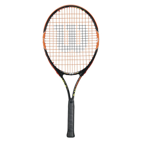 Wilson - Wilson Burn 25 Junior Tennis Racket - Mad On Darts -  Tennis Rackets
