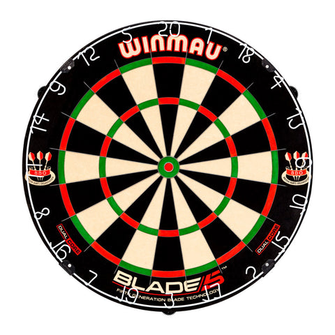 Winmau - Winmau Blade 5 Dual Core Dartboard - Mad On Darts -  Dartboards & Oche Accessories