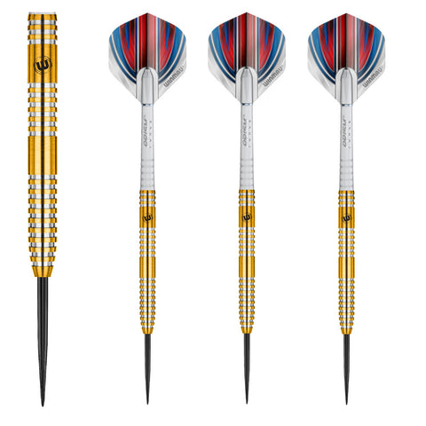 Winmau - Winmau Daryl Gurney 90% Steel Tip Darts - Mad On Darts -  Darts Sets