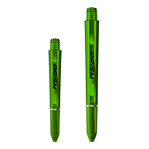 Winmau - Winmau Prism 1.0 Dart Stems Green - Mad On Darts -  Stems