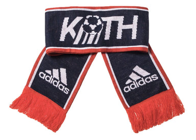 Kith x adidas Soccer Fan Scarf Red/White/Navy