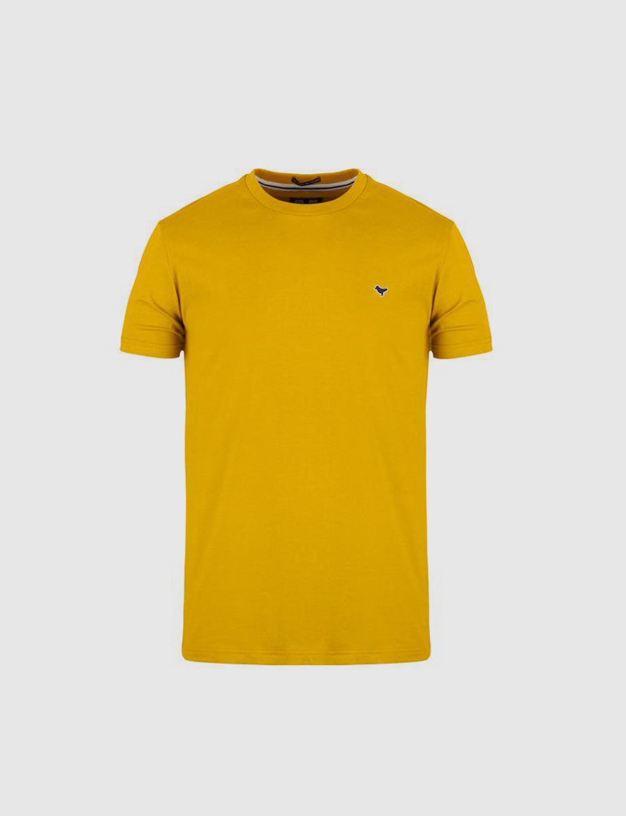 T-shirt- Enzo- Weekend Offender-maglietta-dove logo-yellow-casuals-reverse clothing store-perugia-umbria