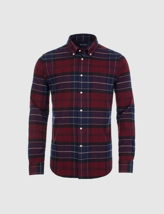 Barbour- Lustleigh- Shirt-tartan-botton down-reverse clothing store-umbria-perugia