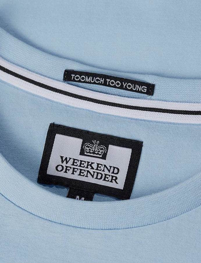 T-Shirt -Weekend Offender -Bubbles- White-admit nothing-casuals-reverse clothing store-perugia-umbria