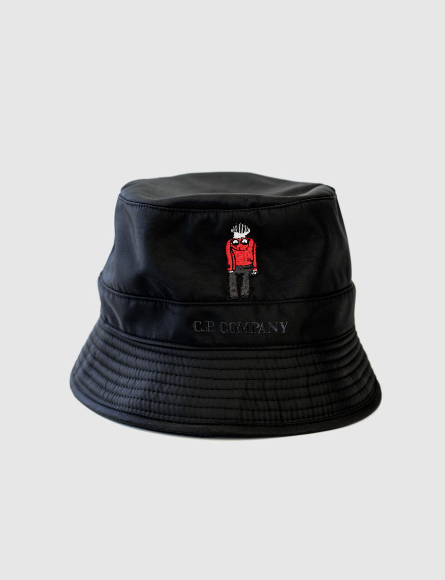 C.P. Company Bucket Hat, cappello, pescatore - reverse clothing store