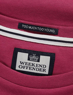 T-shirt-Enzo-Weekend Offender-dove logo- maglietta-casuals-reverse clothing store-perugia-umbria