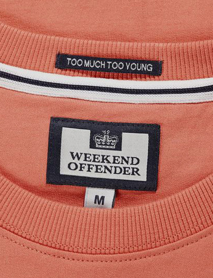Felpa- Esposito- Weekend Offender-sweatshirt -cosmos-admit nothing-casuals-reverse clothing store-perugia-umbria