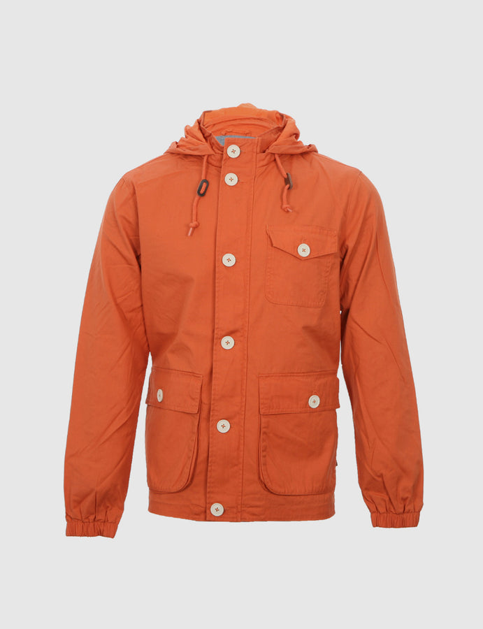 Farah Vintage-menswear-Raleigh-orange-mod-casual-parka-reverse clothing-store-perugia-umbria