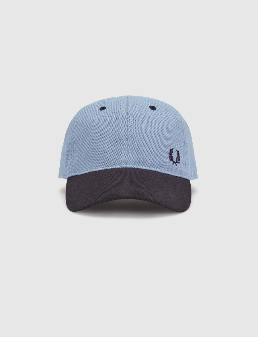 Fred Perry -Blocked Pique Cap-HW5632- baseball cap-cappellino-reverse clothing store-perugia-umbria