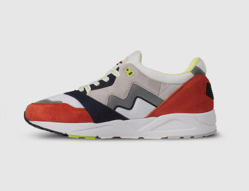 Karhu-Aria-lunar rock-red-sneakers-Catch of the Day pack-reverse clothing store-perugia-umbria