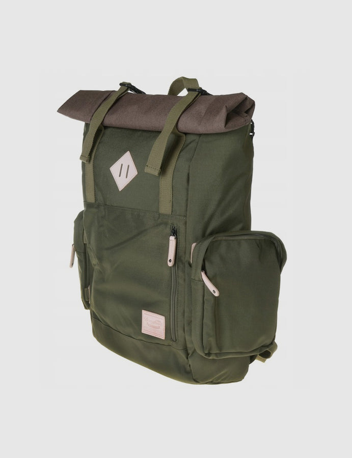 Zaino- Doughnut -Peak Army-backpack-outdoor-military-green-reverse clothing store-perugia-umbria