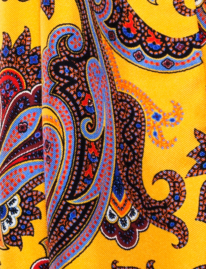 Peckham Rye London foulard-gents-mods-60s-paisley-pattern-detail-reverse clothing store