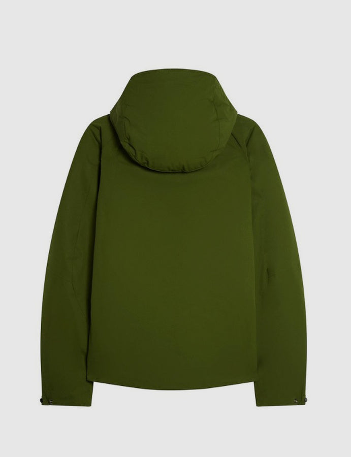 C.P. Company hooded jacket in Pesto - giacchetto - antivento - antipioggia - reverse clothing store