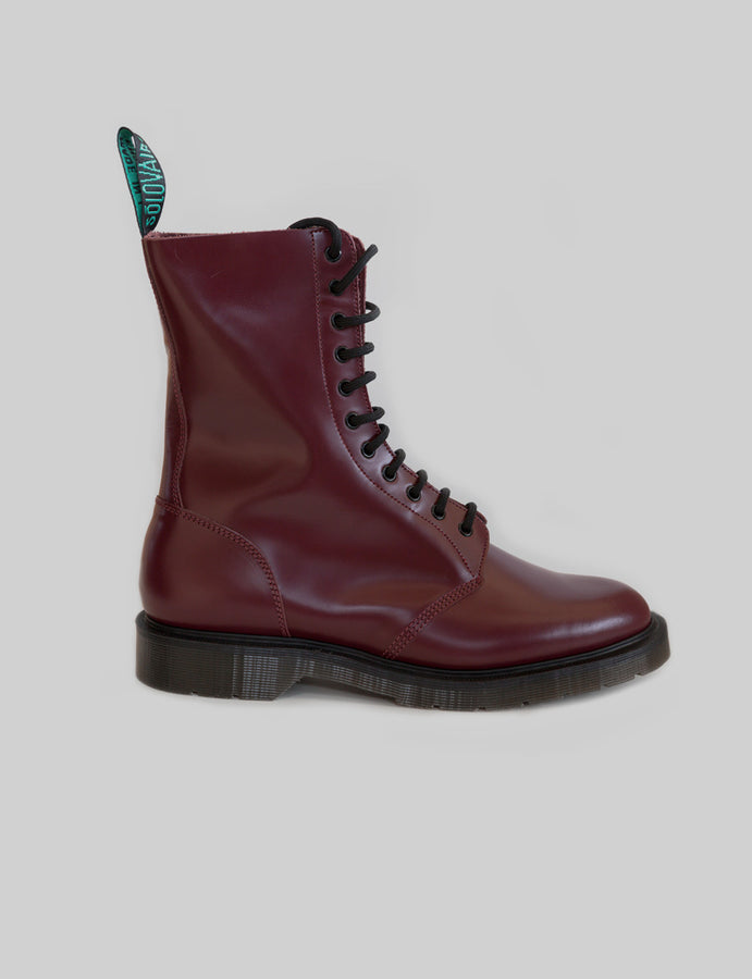 Solovair Derby Boot, anfibi pelle, scarpe, calzature inglesi - reverse clothing store