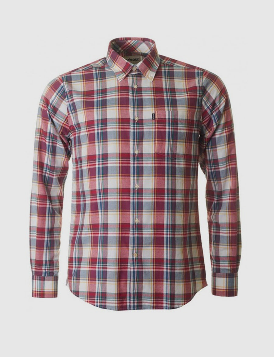 Barbour Warren shirt - camicia - tartan - quadri - reverse clothing store