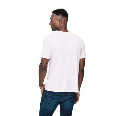 Back view of Rich in cotton candy