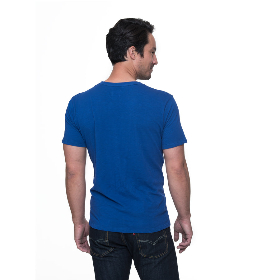 Rich short sleeve pocket Tee - Denim