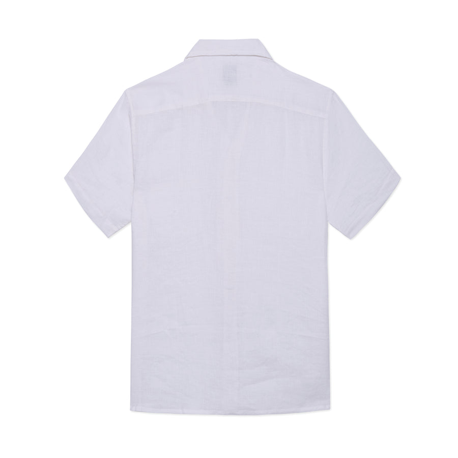 Linen Button Down White