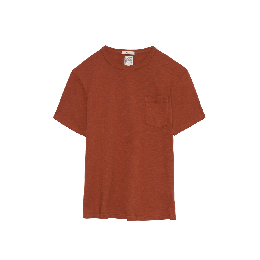 Rich short sleeve pocket Tee - Tomatillo