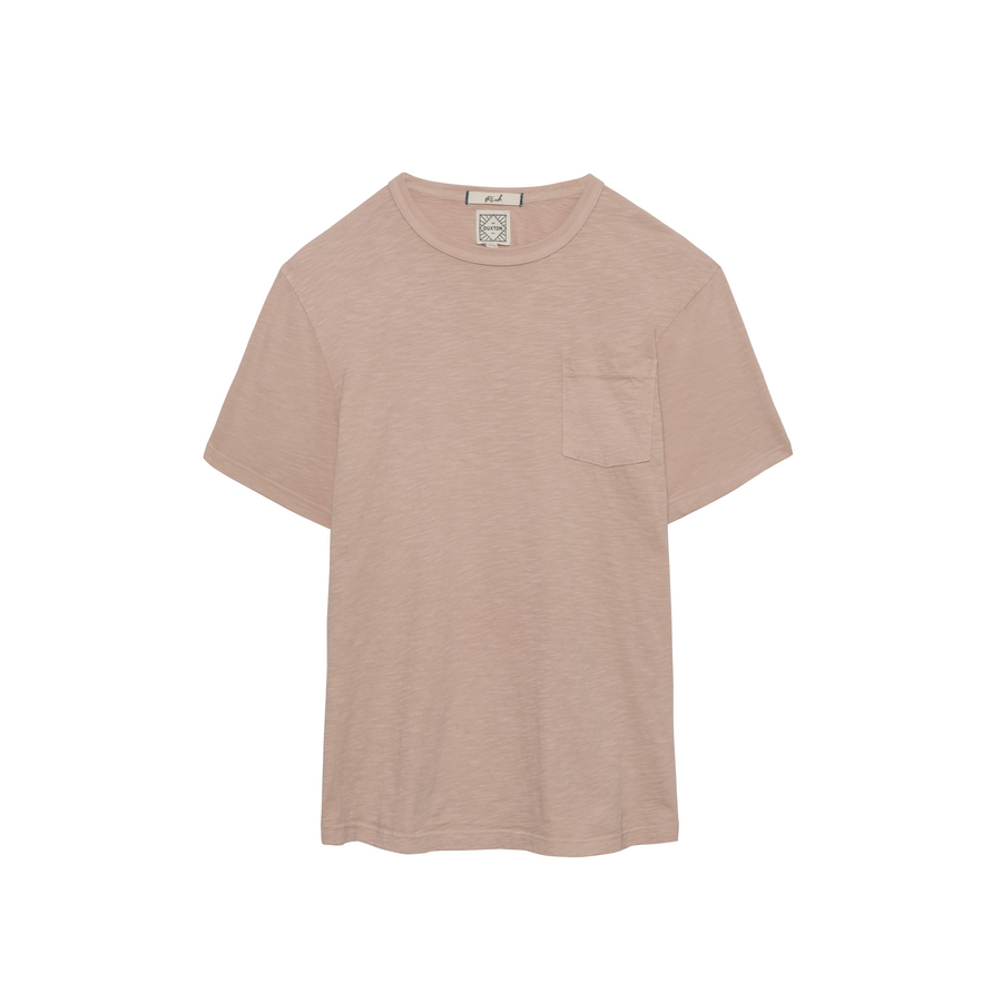 Rich short sleeve pocket Tee - Pearl
