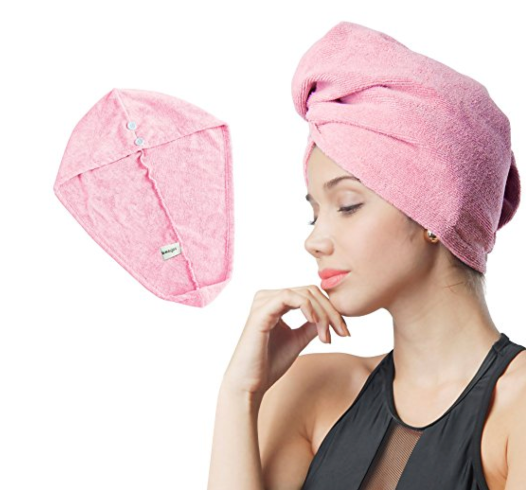 Quick Hair-Drying Towel