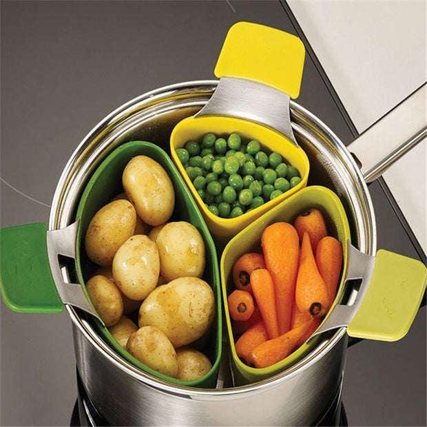 3pcs Food Steamer